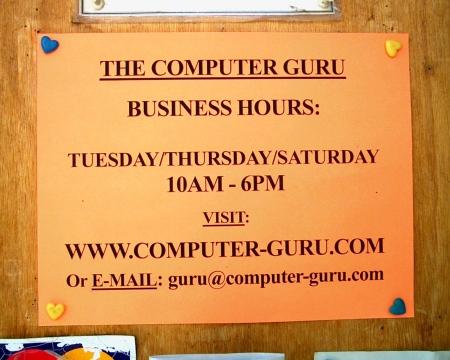 Computer Guru Summer Hours